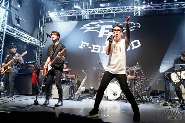 【ライブレポート】F-BLOOD、フミヤの誕生日に横浜からライブ生配信!!ゲストに木梨憲武!!