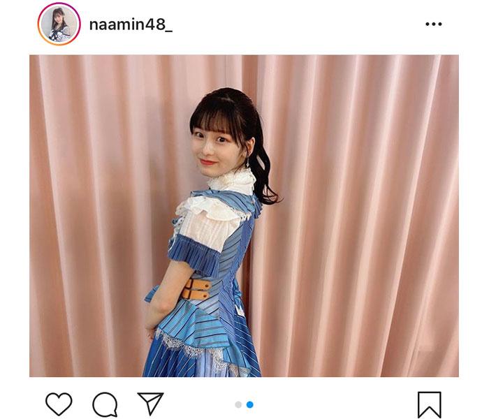 AKB48 浅井七海、気合を入れたポニーテール姿を披露!「最高に可愛いです」「ポニテ最強よね」