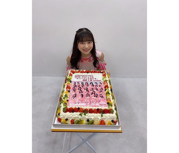 NGT48 藤崎未夢、新曲『シャーベットピンク』リリースを迎え「感謝の気持ちを届けられるように頑張る!」