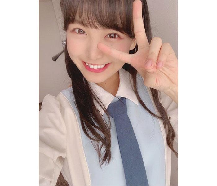STU48 福田朱里が爽やかな新制服衣装で美スタイルを披露!「お仕事の度に感動しちゃって大変かも」