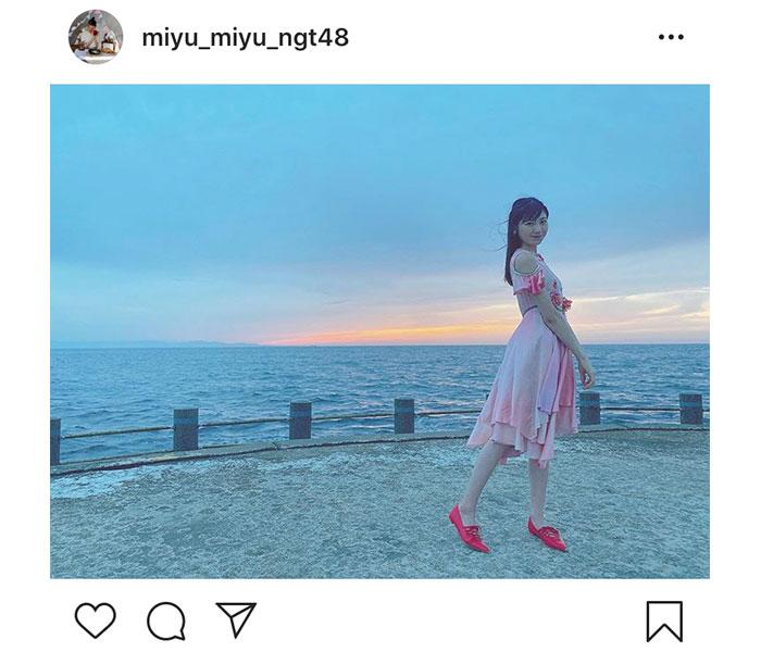 NGT48 藤崎未夢、初センター曲『シャーベットピンク 』リリースを前に心境明かす「感謝の気持ちでいっぱい」