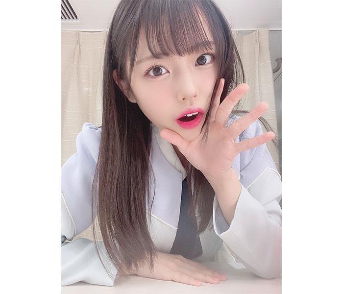 """STU48 岩田陽菜、朝からエールを届ける""""ささやき自撮りショット""""をお届け!"""
