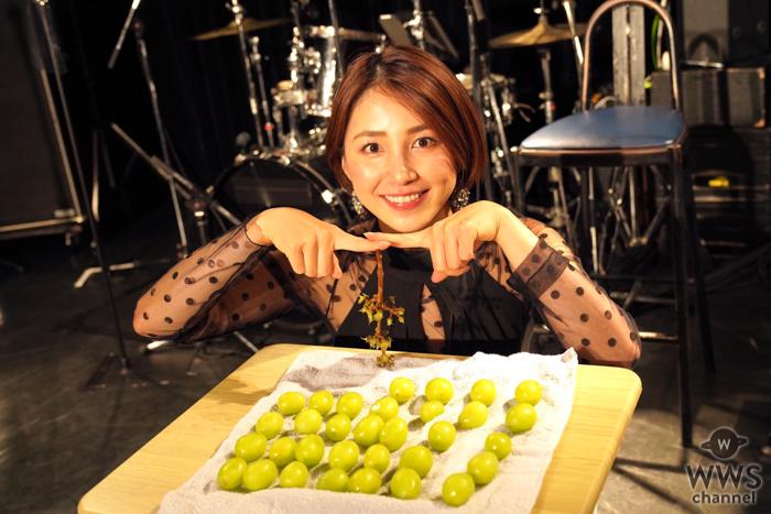 吉川友、半年ぶりのワンマンライブで粒数えに挑戦!「32粒、数えたー!」