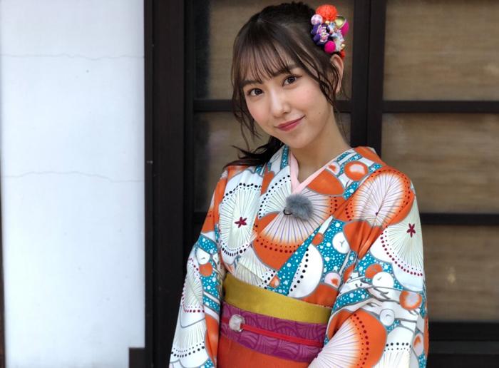 SKE48 熊崎晴香、浴衣&ポニテの最強コーデを披露「みんなの願いが叶いますように」