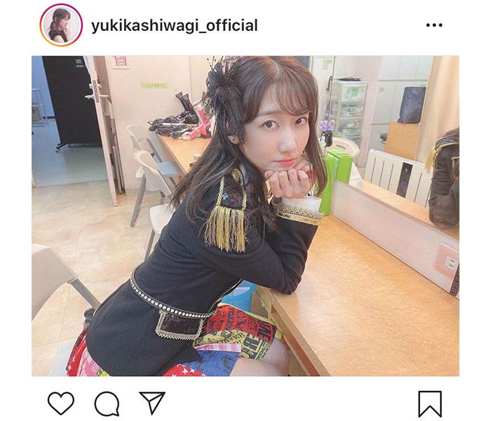 AKB48 柏木由紀、『ヘビーローテーション』の衣装でAKB愛を語る「衣装着てるゆきりん、輝いてるわー」