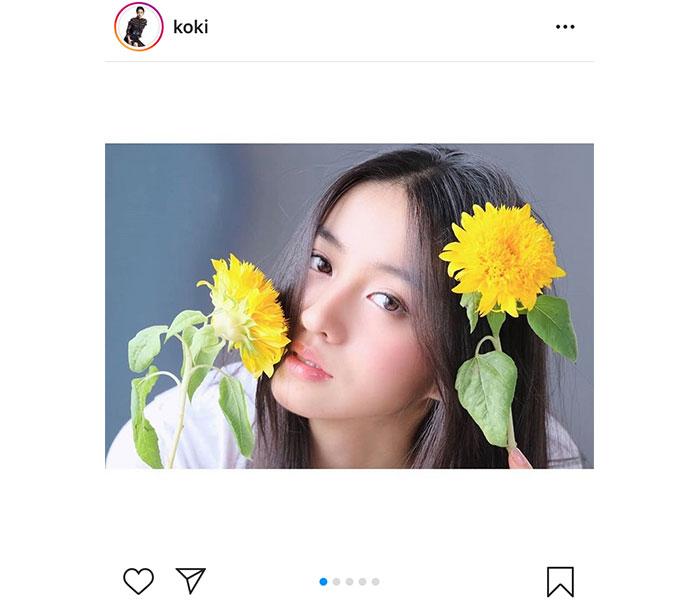 Koki,、Cocomi撮影のナチュラルショットに「美しすぎる」「好きだわ」と反響