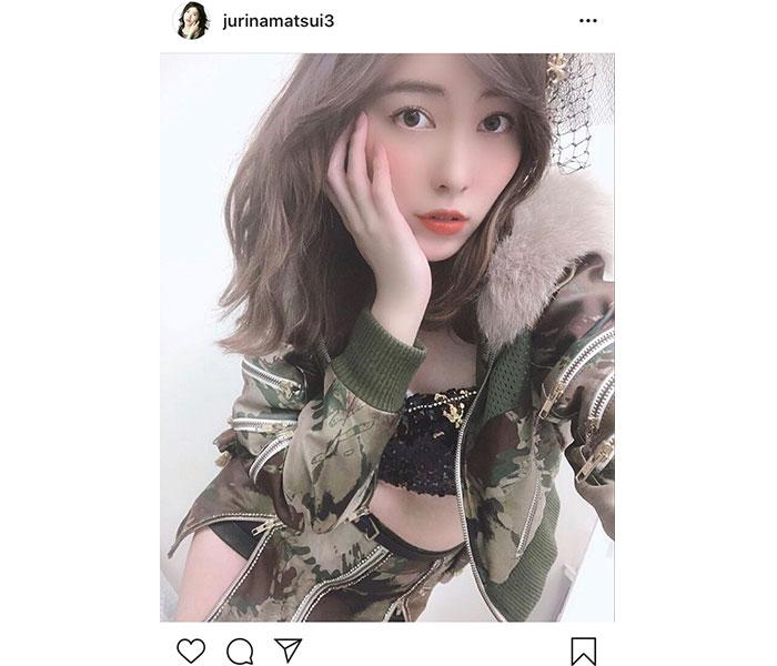 SKE48 松井珠理奈、『赤ピン』衣装の巻き髪ロングヘア姿に「これぞ、珠理奈って感じ」