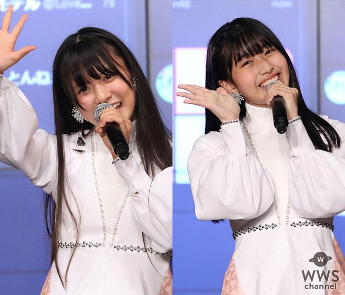 SKE48 10期生 林美澪と杉山歩南が劇場で初MCに挑戦!倍速ダンスに夏野菜ソングで爪痕残す