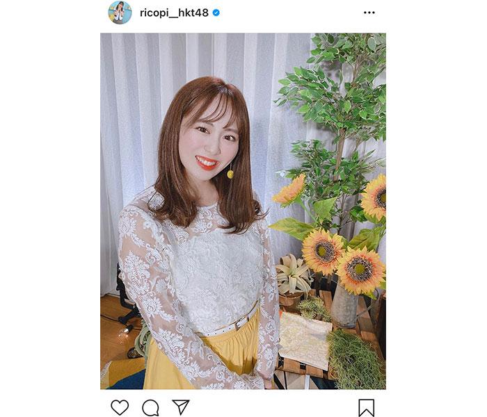 HKT48 坂口理子「感謝の気持ちで一杯」ファンへのメッセージを届ける