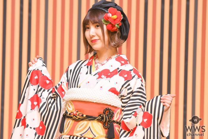 SKE48 菅原茉椰、「オンライントーク会」で好評のポニーテール写真を披露!「幸せそうな笑顔」「笑顔がとっても素敵です」