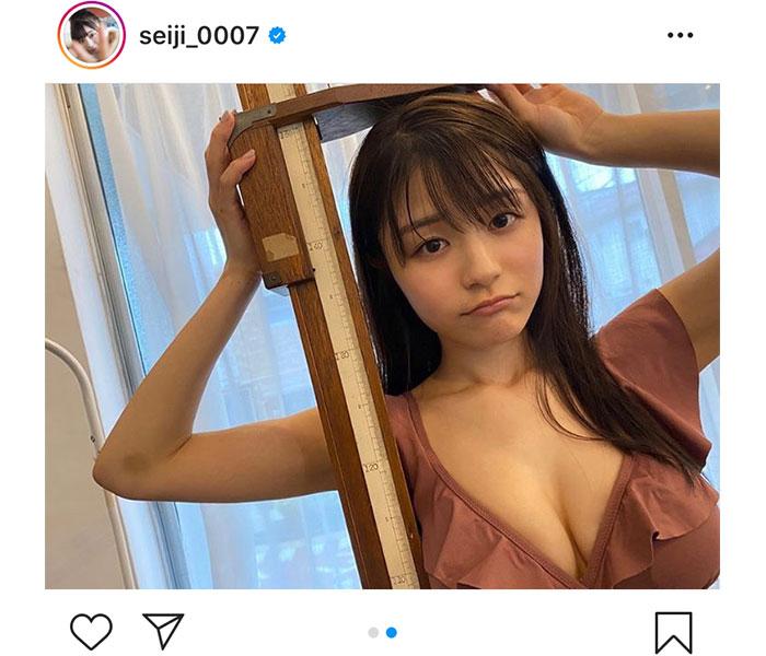 NGT48 清司麗菜「縮んでました、、」初グラビア撮影の悲しい出来事は?