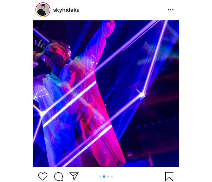 躍動するSKY-HIが有料配信ライブを終えメッセージ「これからの人生へのスタートになりました」