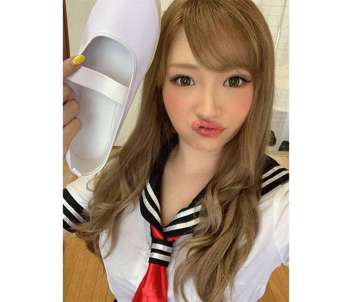 サイバージャパンダンサーズ・渡辺加和(かずへ〜)、セーラー服姿を大公開!久しぶりの学校に「全部が大きく見えてたのに」