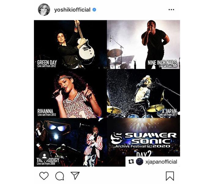 X JAPAN YOSHIKIが2011年サマソニステージを振り返る!7/23(木・祝) 20時より「SUMMER SONIC 2011」アーカイブ配信決定!
