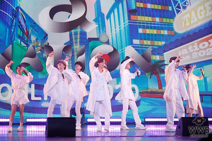 【速報】男女7人組ダンス&ボーカルグループ・GENICが「a-nation online 2020」Blue Stageに登場!