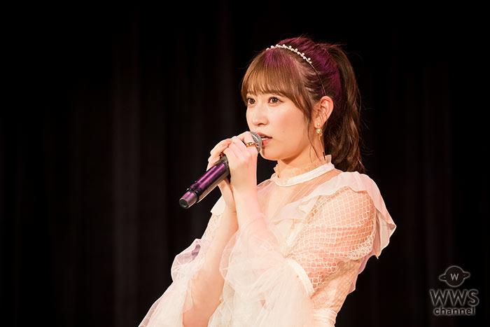 NMB48・吉田朱里が生配信番組でNMB48の卒業を発表!