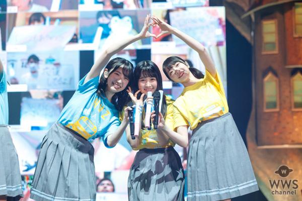 【ライブレポート】日向坂46がファンタジックな世界観で配信ライブ、約30万人魅了!9月に1stアルバムリリースも発表!
