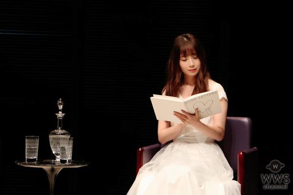 高柳明音(SKE48) 、朗読劇「ラヴ・レターズ」日本30周年のオープニングを飾る。 女性の50年の生涯を熱演