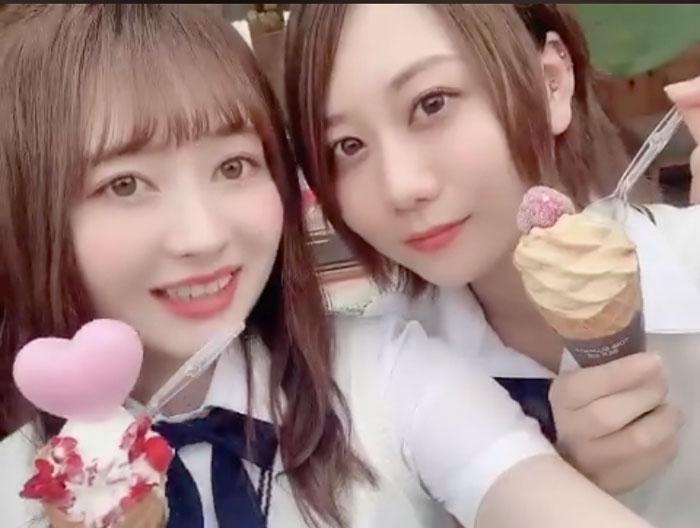 SKE48 江籠裕奈&古畑奈和の5期生コンビが夏の犬山を散策<SKE48は君と歌いたい>