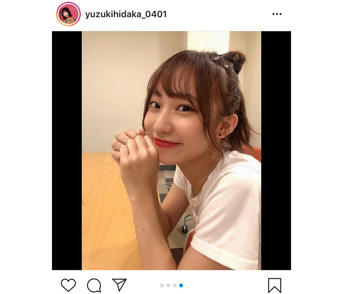 SKE48 日高優月、彼女感溢れるシチュエーションに「隣にいる感スゴい」と反響!
