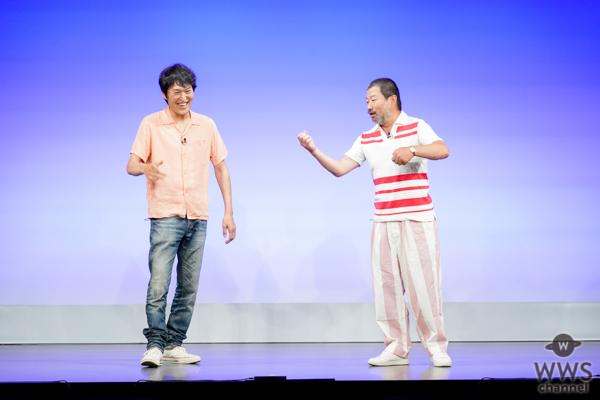 木村祐一と千原ジュニアが「よしもと有楽町シアター」こけら落とし公演に登場