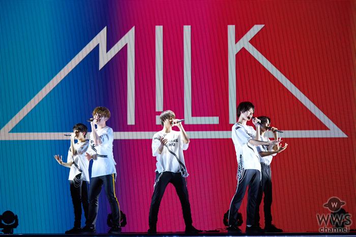 M!LK、新曲2曲を初披露した無観客配信ライブを開催!