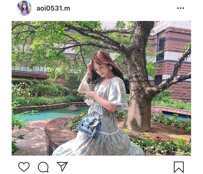 HKT48 本村碧唯、風に舞ったお姫様ショットに歓喜の声!「天使みたい」「可愛さが溢れてる」