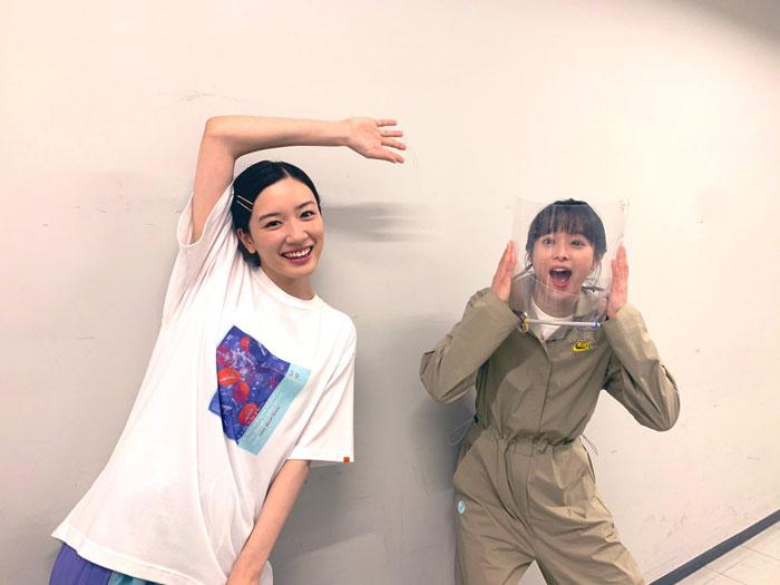 永野芽郁&清野菜名、久しぶりの『半分、青い。』2ショットに歓喜の声!