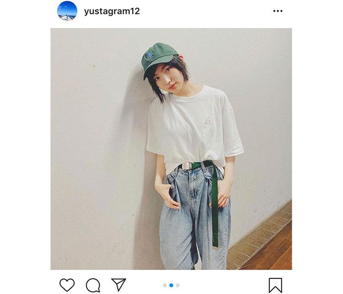 元NMB48 太田夢莉、光永のアパレルブランド着用のコーデに絶賛の声「ゆーりの少年ルック大好き!!」