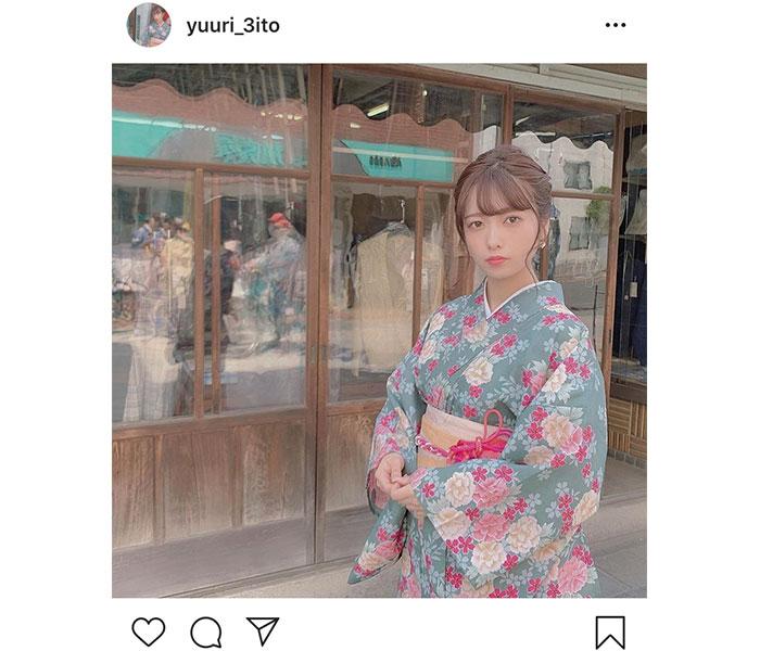 斉藤優里、「夏を感じれますように」過去の浴衣写真に「ゆったん艶やか」「今、夏が来ました!」と反響!