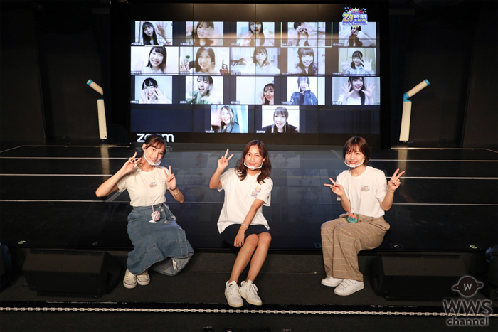 SKE48が29時間の生配信を完走!キャンプに海ロケ、劇場公演では久しぶりのコールも!!