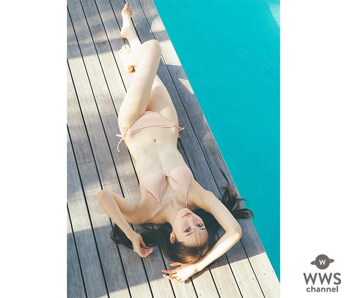 乃木坂46 梅澤美波、初のビキニカットが解禁!「自信を持って楽しく撮影に挑めました!」