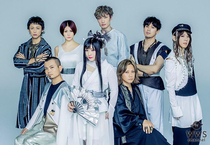 和楽器バンドの横浜アリーナ公演2days、オンラインライブ配信決定!LINE LIVE-VIEWINGで初のアリーナ規模国内独占生配信!