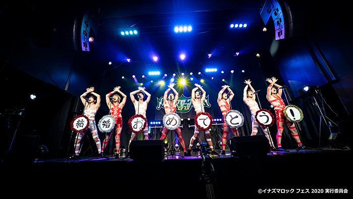 【写真特集】BOYS AND MEN(ボイメン)が「イナズマロック フェス 2020」にT.M.Revolution「HOT LIMIT」のスーツ風な衣装で盛り上げる!