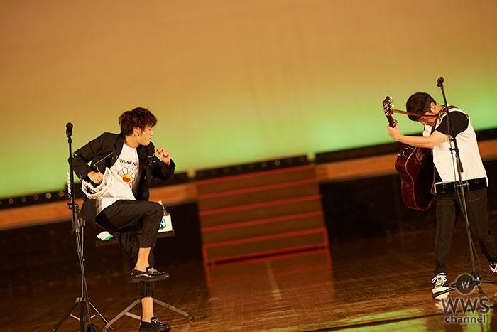 ゆず、初のオンラインツアーを横浜よりスタート! 「親バカ青春白書」主題歌『公私混同』を初披露、AR演出やファンがアバターで参加する新たなライブ体験届ける。