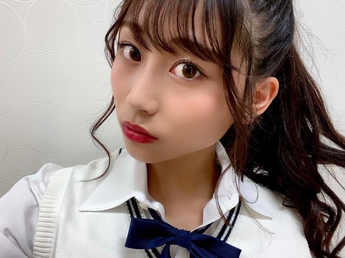 SKE48 青海ひな乃のスポーティな制服ポニーテールに「好きだわぁ」「もう最高な乃」と反響!