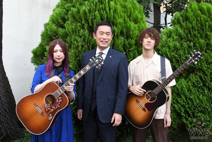 GLIM SPANKY、主題歌務める『警視庁・捜査一課長2020』に出演し熱唱!