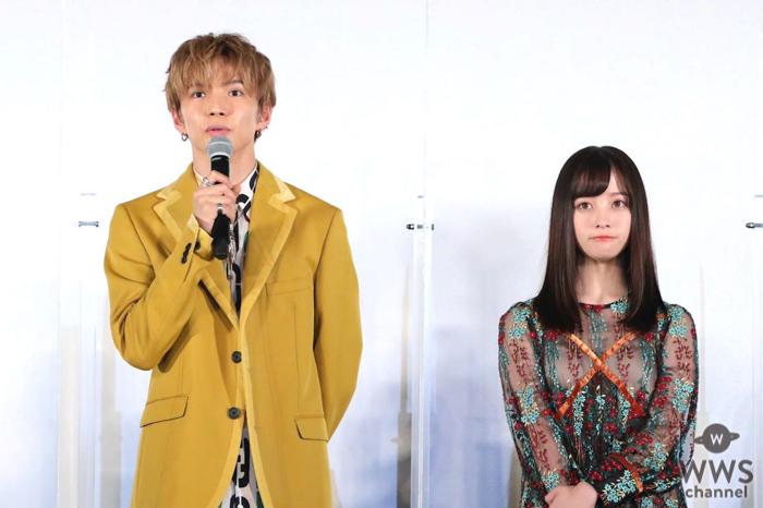 佐藤大樹と橋本環奈が初共演の互いの印象を語る『小説の神様』公開直前イベント開催!