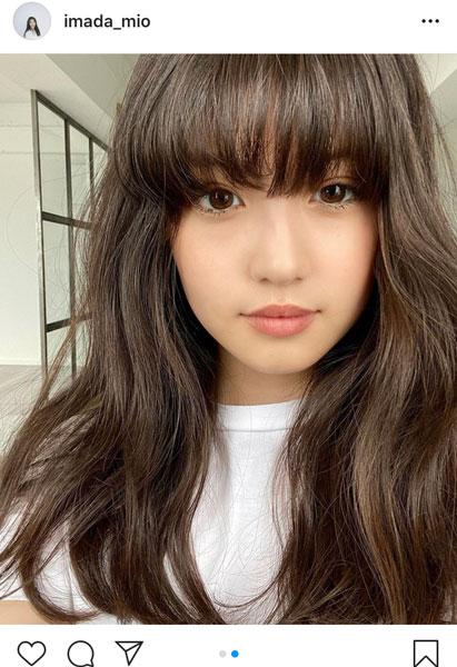 今田美桜、前髪ありのイメチェンショットに反響!「びっくり!!」「キュン死しました」