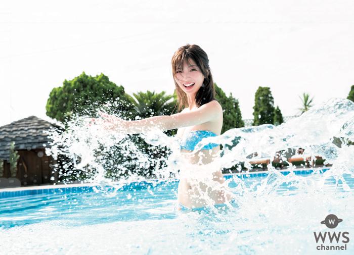 工藤美桜、初々しい笑顔の爽快ビキニショット!「週刊ヤングジャンプ」で初単独表紙
