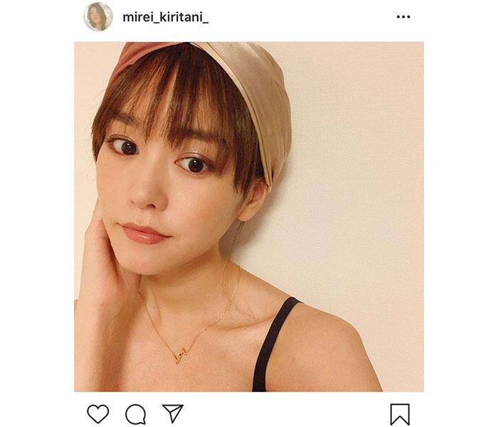 桐谷美玲、産後2ヶ月の近況を報告 自撮りショットに「子供いるとは思えない美貌」の声
