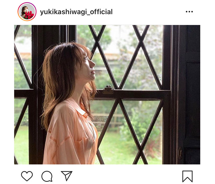 AKB48 柏木由紀、アンニュイな横顔ショットに「ゆきりんの横顔すき!!」「超絶セクシー 」と反響