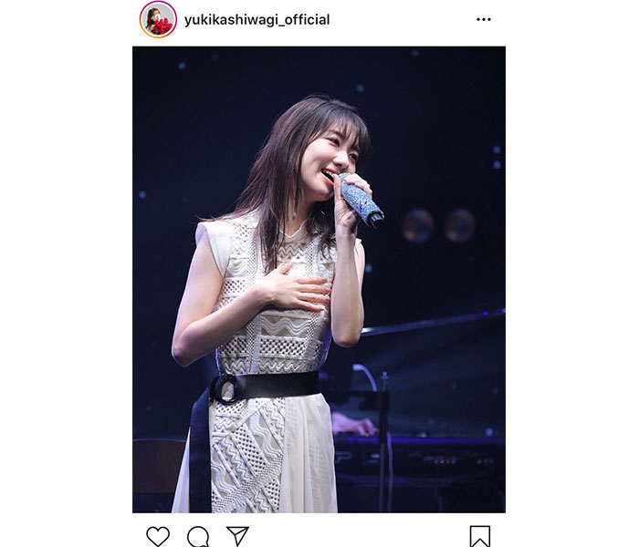 AKB48 柏木由紀の配信ソロライブに感想ぞくぞく!「ゆきりんのファンで良かった」