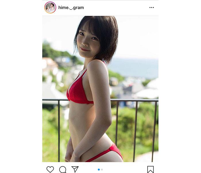 新人タレント・新谷姫加、「週プレ」で初の水着カットを公開!「美ボディ!!」「とても綺麗です」