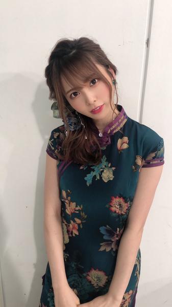 ラストアイドル 西村歩乃果のチャイナドレス姿に「大人の魅力」「最高かよ」と歓喜の声!