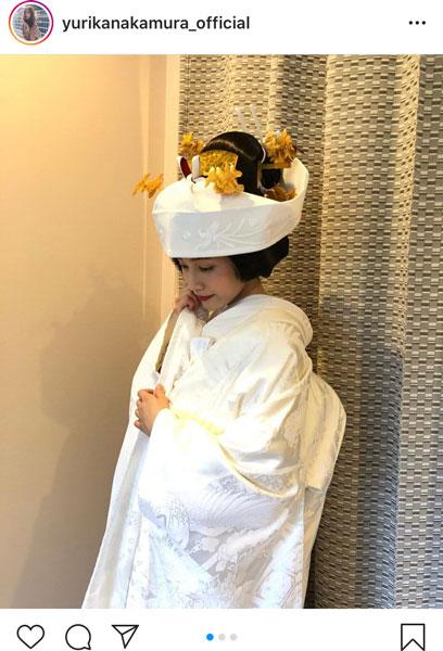 中村ゆりか、白無垢の花嫁姿に「お嫁に欲しい」と歓喜の声