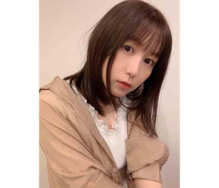 """SKE48 大場美奈、暗めのヘアカラーにイメチェン!「""""いいね""""連打してしまった」「もう、好きになっちゃう」"""