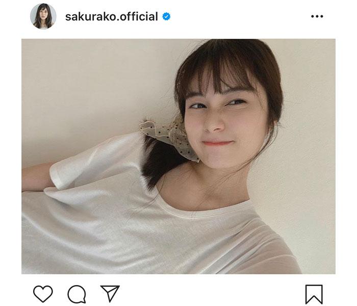 大久保桜子、親近感あるセルフメイクの自撮りショット公開「透明感ハンパない!」