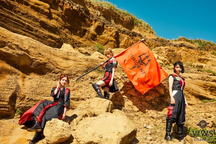 TRiDENT(ex.ガールズロックバンド革命)が新ビジュアルを公開!次のテーマを提げ新たな風を吹かす