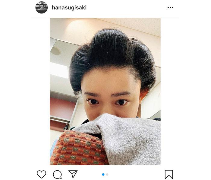 杉咲花、朝ドラ『おちょやん』のロケオフショット公開!「『和』が似合う」「放送が待ち遠しい」